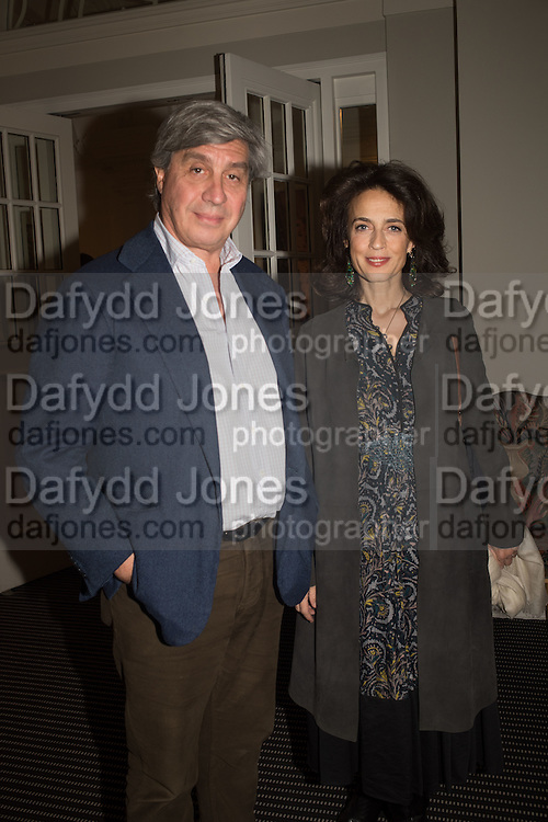 Antoine Chenevierre; Princess Cristina Pignatelli; , Christies in Association with de Pury host a private view of 'A visual Odyssey' Selections from the Lambert Art Collection.  Ely House, Dover St. London.  3 October 2015.