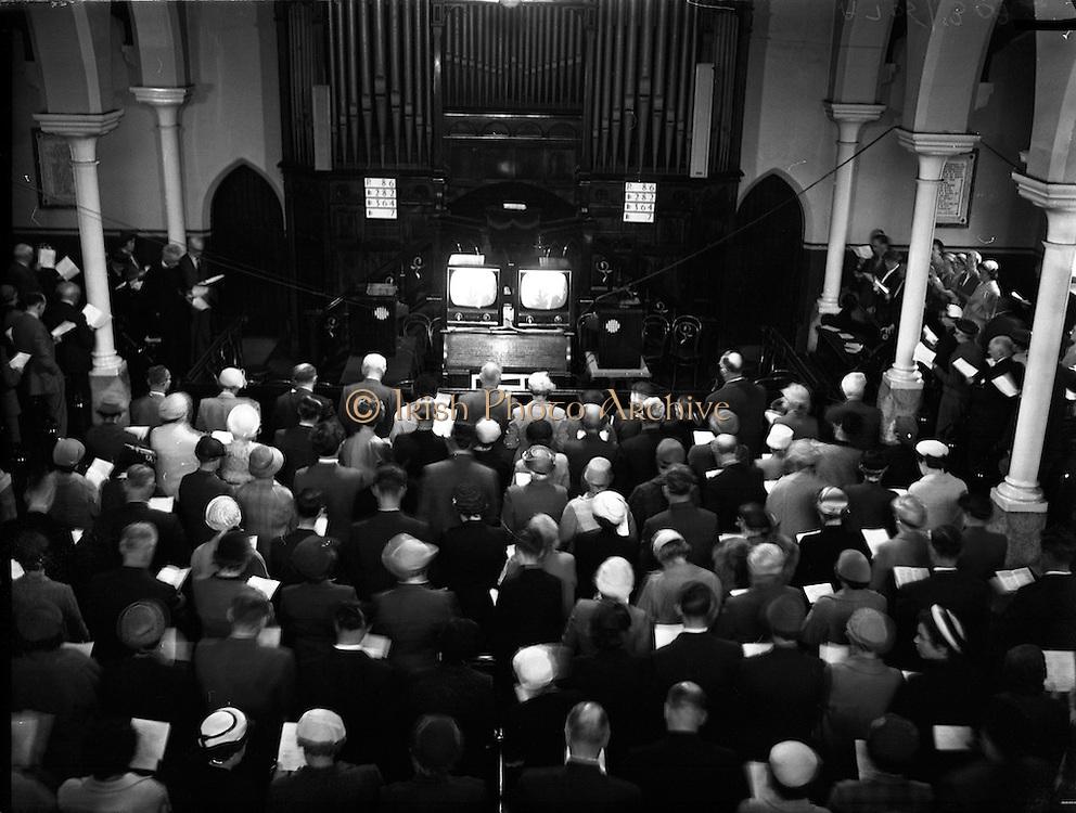 02/06/1958<br /> 06/02/1958<br /> 02 June 1958<br /> <br /> Presbyterian Church General Assembly Meeting in Dublin