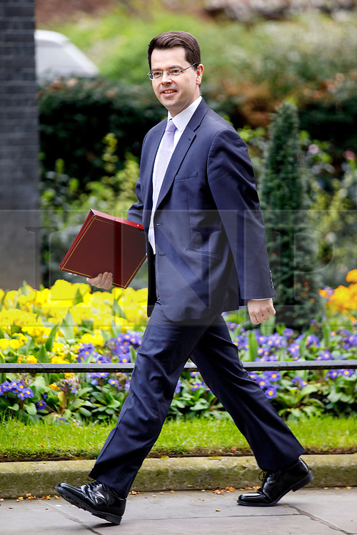 © Licensed to London News Pictures. 29/03/2017. London, UK. Northern Ireland Secretary JAMES BROKENSHIRE attends a cabinet meeting in Downing Street, London on Wednesday, 29 March 2017 as Prime Minister Theresa May triggers article 50 and starts Britain's departure from the European Union. Photo credit: Tolga Akmen/LNP