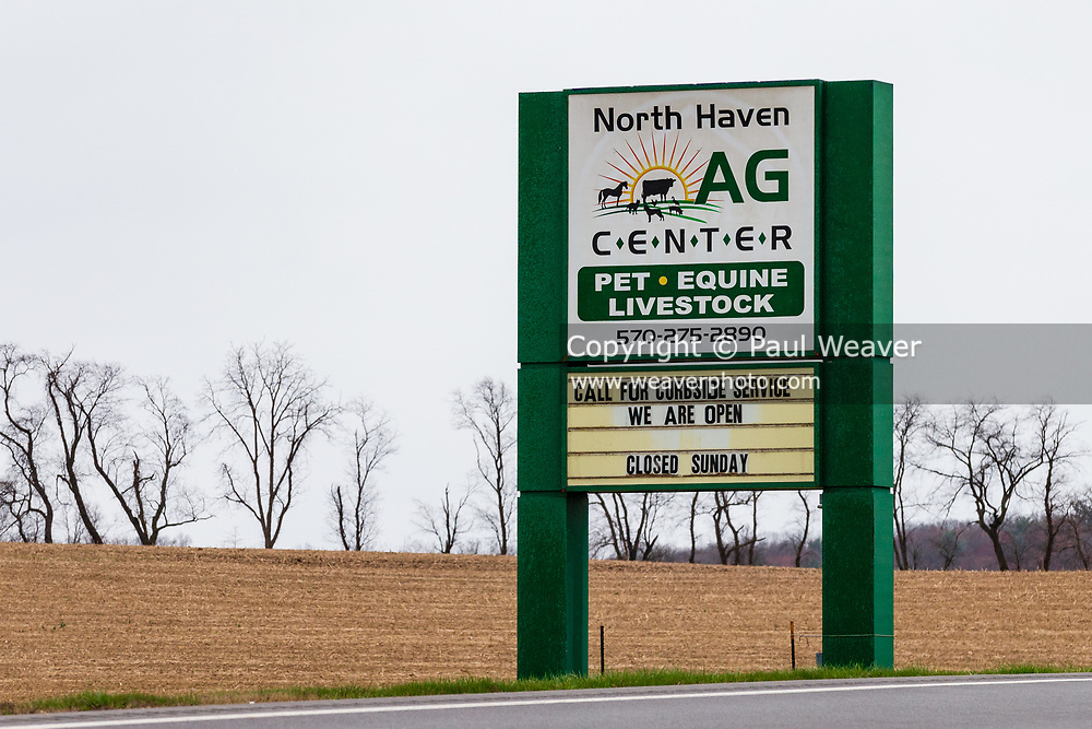 April 3, 2020 -- North Haven Ag Center is offering curbside service during the COVID-19 pandemic..