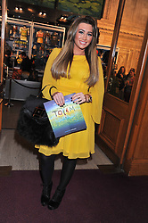 LAUREN GOODGER attends the premier of 2012 Cirque du Soleil's Totem at the Royal Albert Hall, London on 5th January 2012,