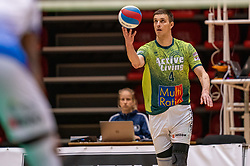 Tijmen Laane of Orion in action during the league match between Active Living Orion vs. Amysoft Lycurgus on March 20, 2021 in Doetinchem.