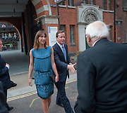 SAMANTHA CAMERON; DAVID CAMERON; RONNIE GRIERSON, Summer party hosted by Rupert Murdoch. Oxo Tower, London. 17 June 2009