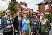 Staff and volunteers at St Johns Centre Manchester, they have had solar PV on their roof for a number of years. The funds raised from the feed in tariff are used to help small community projects in the area.