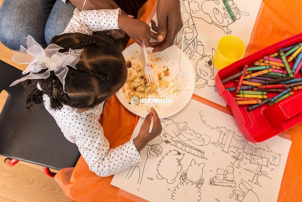 Preschool, London Borough of Haringey, North London UK