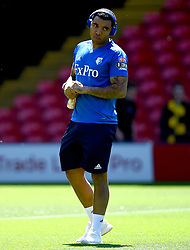 Watford's Troy Deeney before the Premier League match at Vicarage Road, Watford.