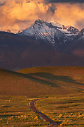 Sunset at the National Bison Range, Montana