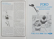 All Ireland Senior Hurling Championship Final,.07.09.1986, 09.07.1986, 7th September, 1986,.07091986AISHCF,.Cork 4-13, Galway 2-15,.Minor Cork v Offaly,.Senior Cork v Galway,.Ford