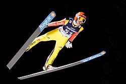 08.01.2016, Mühlenkopfschanze, Willingen, GER, FIS Weltcup Ski Sprung, Willingen, im Bild Richard Freitag, Deutschland // during Skijumping Qualification of FIS Skijumping World Cup at the Mühlenkopfschanze in Willingen, Germany on 2016/01/08. EXPA Pictures © 2016, PhotoCredit: EXPA/ Eibner-Pressefoto/ Socher<br /> <br /> *****ATTENTION - OUT of GER*****