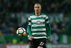 February 11, 2018 - Lisbon, Lisboa, Portugal - Sporting CP defender Jeremy Mathieu from France during the Premier League 2017/18 match between Sporting CP and CD Feirense at Estadio Jose Alvalade on February 11, 2018 in Lisbon, Portugal. (Credit Image: © Dpi/NurPhoto via ZUMA Press)