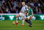 Huddersfield Town's Aaron Mooy  during the Premier League match between Huddersfield Town and West Bromwich Albion at the John Smiths Stadium, Huddersfield, England on 4 November 2017. Photo by Paul Thompson.