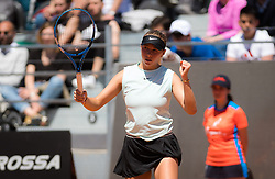 May 16, 2019 - Rome, ITALY - Amanda Anisimova of the United States in action during her second-round match at the 2019 Internazionali BNL d'Italia WTA Premier 5 tennis tournament (Credit Image: © AFP7 via ZUMA Wire)