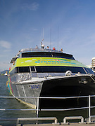 The Big Cat, ready to take visitors to the Great Barrier Reef, Cairns, Queensland, Australia.