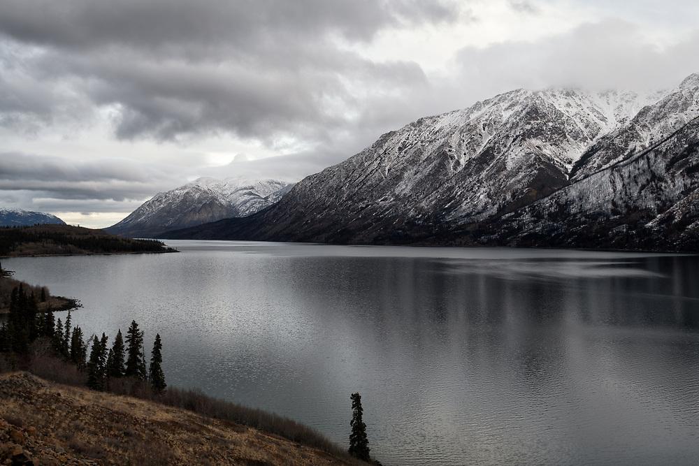 Spirit Lake on the Klondike Highway, The Yukon, November 2018