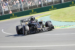 March 15, 2019 - ROMAIN GROSJEAN during Friday Practice at the Australian Formula 1 Grand Prix in Melbourne on March 15, 2019  (Credit Image: © Christopher Khoury/Australian Press Agency via ZUMA  Wire)