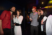 RUSSELL BRAND; BELLA FREUD; GEORGE FROST; JEMIMA KHAN, The Hoping Foundation  'Rock On' benefit evening for Palestinian refugee children.  Cafe de Paris, Leicester Sq. London. 20 June 2013