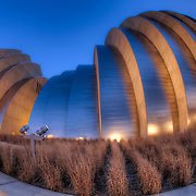 Kauffman Center for the Performing Arts in downtown Kansas City, Missouri.
