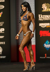 Sept.16, 2016 - Las Vegas, Nevada, U.S. -  FRANCESCA LAUREN competes in the Bikini Olympia contest during Joe Weider's Olympia Fitness and Performance Weekend.(Credit Image: © Brian Cahn via ZUMA Wire)