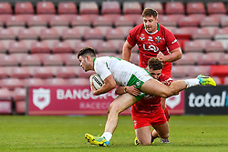 11th November 2018 , Racecourse Ground,  Wrexham, Wales ;  Rugby League World Cup Qualifier,Wales v Ireland ; <br /> <br /> <br /> Credit:   Craig Thomas/Replay Images