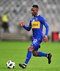 Cape Town 180314.Cape Town City midfielder Teko Modise against Orland Pirates in  the Nedbank  at the Cape Town Stadium. Photograph:Phando Jikelo/AFRICAN NEWS AGENCY/ANA