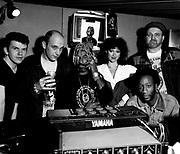 1989 - Adrian Sherwood, David Eversley., David Harrow, Jumbo, Lee Perry and Mrs Perry - London-  Matrix Studios - Secret Laboratory