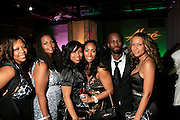 """Kristen Henderson, Christina Rice, Michele Murray, Alize Brand Director, Brian Michaell Cox, and Valiesha Butterfield at The Ludacris Foundation 5th Annual Benefit Dinner & Casino Night sponsored by Alize, held at The Foundry at Puritan Mill in Atlanta, Ga on May 15, 2008.. Chris """"Ludacris"""" Bridges, William Engram and Chaka Zulu were the inspiration for the development of The Ludacris Foundation (TLF). The foundation is based on the principles Ludacris learned at an early age: self-esteem, spirituality, communication, education, leadership, goal setting, physical activity and community service. Officially established in December of 2001, The Ludacris Foundation was created to make a difference in the lives of youth. These men have illustrated their deep-rooted tradition of community service, which has broadened with their celebrity status. The Ludacris Foundation is committed to helping youth help themselves."""