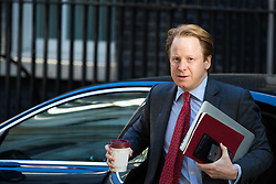 Downing Street, London, April 25th 2017. Minister for the Cabinet Office and Paymaster General Ben Gummer attends the weekly cabinet meeting at 10 Downing Street in London. Credit: ©Paul Davey