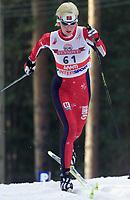LAHTIS 010215 - SKIDVM<br />Skid-vm startade idag torsdag 15 februari med 15 km klassik stil i Lahtis i Finland. <br />Bilden: Bente Skari frŒn Norge vann damernas lopp med dryga sju sekunder.<br />Foto: Henrik Montgomery  Kod: 1066<br />**