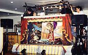 Figli d'Arte Cuticchio, the Opera dei Pupi, marionette puppet show, Sicliy, Italy 1999