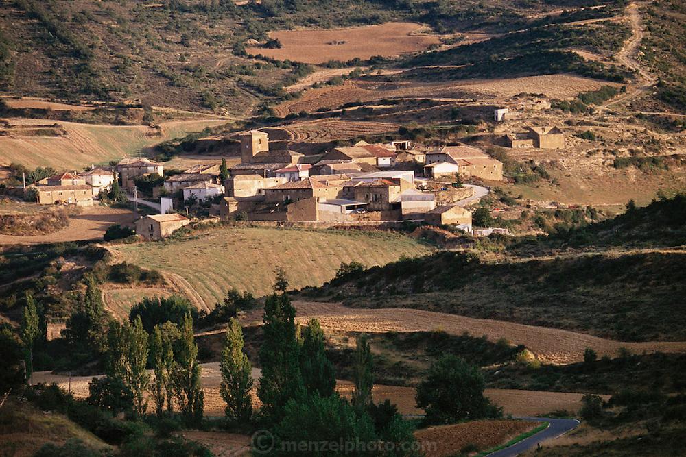 Village of Leoz, in Navarra, Spain.