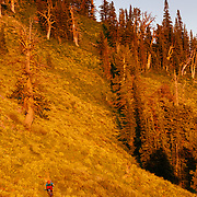 Andrew Whiteford rides Singletrack in eastern Idaho.