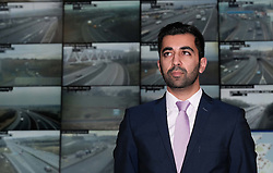 Transport Scotland Christmas Getaway, Tuesday 20th December 2016<br /> <br /> Transport Minister, Humza Yousaf was at the National Traffic Control Centre in South Queensferry to see preparations being made for the Winter Getaway.<br /> <br /> (c) Alex Todd | Edinburgh Elite media
