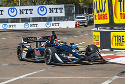 March 8, 2019 - St. Petersburg, Florida, U.S. - ED JONES (20) of The United Emerates goes through the turns during practice for the Firestone Grand Prix of St. Petersburg at Temporary Waterfront Street Course in St. Petersburg, Florida. (Credit Image: © Walter G Arce Sr Asp Inc/ASP)