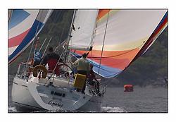 Bell Lawrie Series Tarbert Loch Fyne - Yachting.The second day's inshore races...Boyd Tunnock's Lemarac 4040C in CYCA Class 6