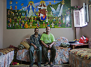 Hani and Josef always lived here.<br />  The coexistence between neighbors is very friendly almost reaching to become family.