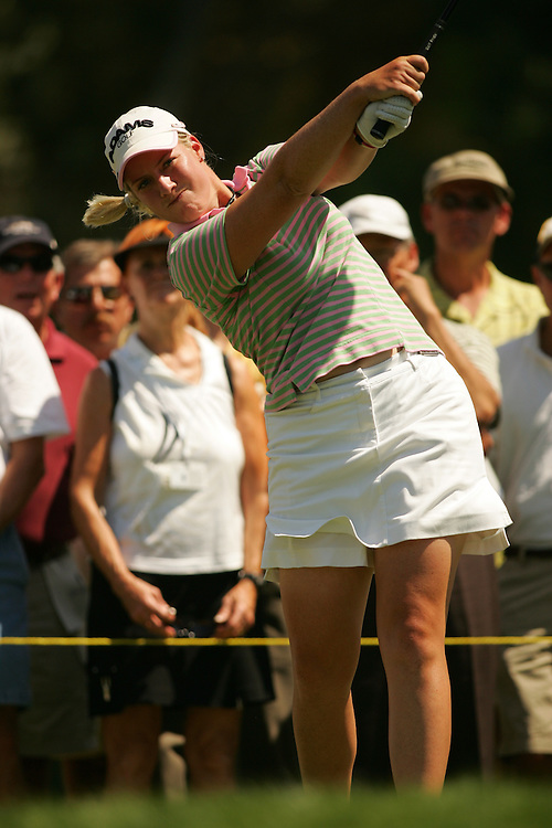 Brittany Lincicome.2007 Kraft-Nabisco Championship.Fourth Round.Mission Hills CC.Dinah Shore Course.Rancho Mirage, CA.Sunday, April 1 2007.04/01/07.Photograph by Darren Carroll
