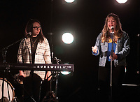 Flo & Joan Live at the picnic at the castle,Warwick Castle photo by Brian Jordan