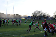 a general view of Wales rugby team training at the Vale, Hensol, near Cardiff on Thursday 29th November 2012. the team are preparing for their final Autumn international match against Australia this Saturday. pic by Andrew Orchard, Andrew Orchard sports photography,