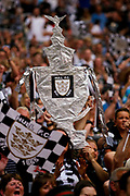 Hull FC fans during the Ladbrokes Challenge Cup Final 2017 match between Hull RFC and Wigan Warriors at Wembley Stadium, London, England on 26 August 2017. Photo by Simon Davies.