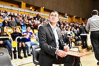 Christophe DENIS - 07.12.2014 - Orleans / Rouen - 11eme journee de Pro A<br />Photo : Fred Porcu / Icon Sport