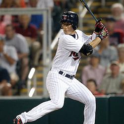 February 27, 2011; Fort Myers, FL, USA; Minnesota Twins second baseman Tsuyoshi Nishioka (1) during a spring training exhibition game against the Boston Red Sox at Hammond Stadium.  Mandatory Credit: Derick E. Hingle