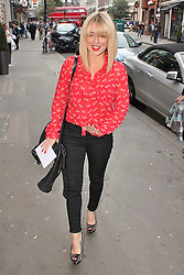 © London News Pictures. 18/06/2013. London, UK. Sheridan Smith at The Cripple of Inishmaan - Press Night. Photo credit: Brett D. Cove/LNP