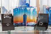 Evan Joseph photography on glass as displayed at the Gallery at One World Observatory in New York City.
