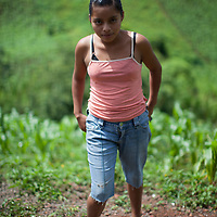Portrait of a young Q'eqchi woman in Concepción Actelá, Alta Verapaz. World Renew is beginning to work in Concepción Actelá, through its Guatemalan partner ADIP.