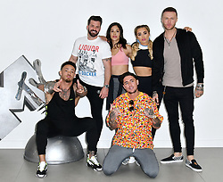 Launch of MTV's brand new series, The Challenge, War Of The Worlds which premieres Wednesday 17th April at 9pm, attend press launch at MTV HQ. London, UK - 10 April 2019. CAP/JOR ©JOR/Capital Pictures. 10 Apr 2019 Pictured: Ashley Cain, Johnny Bananas, Nany Gonzalez, Stephen Bear, Georgia Harrison and Kyle Christie. Photo credit: JOR/Capital Pictures / MEGA TheMegaAgency.com +1 888 505 6342