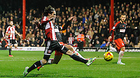 Brentford FC's Jota during the Sky Bet Championship match between Brentford and Fulham at Griffin Park, London 21/11 /2014 Picture by Mark D Fuller