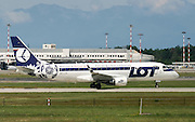 LOT - Polish Airlines / Polskie Linie Lotnicze, Embraer ERJ-170-200LR 175LR