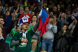 Supporters of Slovenia during the 2020 UEFA European Championships group G qualifying match between Slovenia and Israel at SRC Stozice on September 9, 2019 in Ljubljana, Slovenia. Photo by Ziga Zupan / Sportida