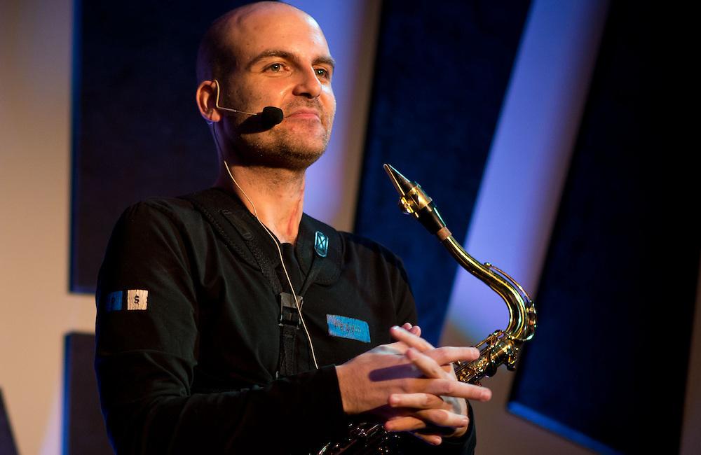 Saxophone artist Pedro Saxo