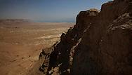Masada,desert, and Dead Sea<br /> Photo by Dennis Brack